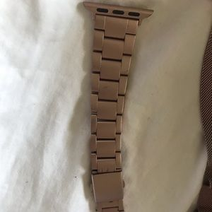 iPhone Stainless 42mm RoseGold Color Watchband EUC